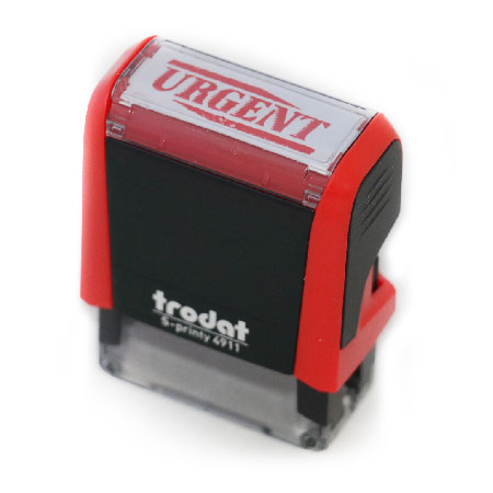Trodat Rubber Stamp - urgent - self-inking